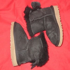 UGG Boots black baby size 7